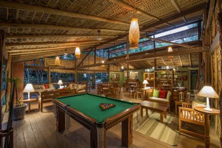 Gemeinschaftsbereich auf der Anavilhanas Lodge