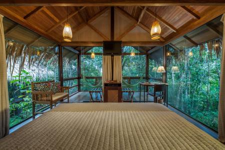 Bungalow der Anavilhanas Lodge