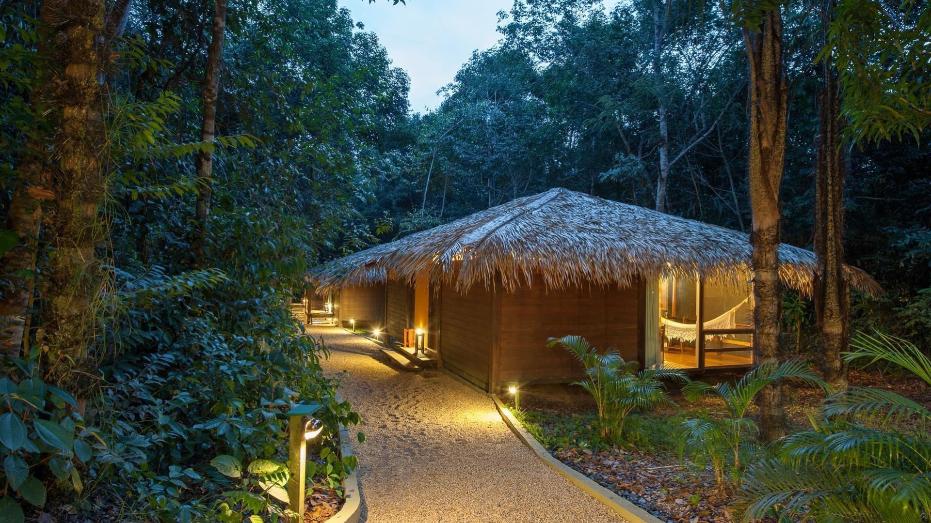 Brasilien Amazonas: 3 bis 6 Tage Reisebausteine - Anavilhanas Jungle Lodge