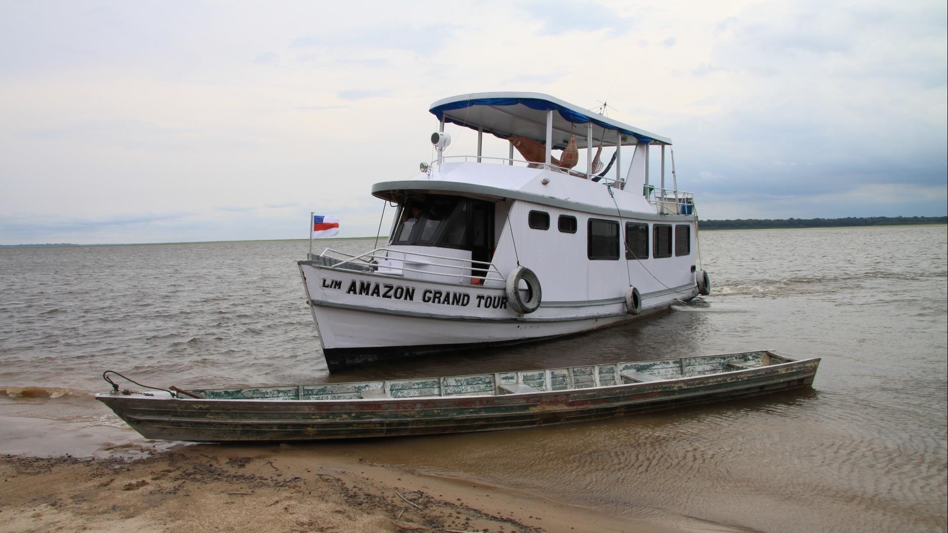 Brasilien Amazonas: 3 bis 8 Tage Reisebausteine - Schiffsexpeditionen in Kleingruppe
