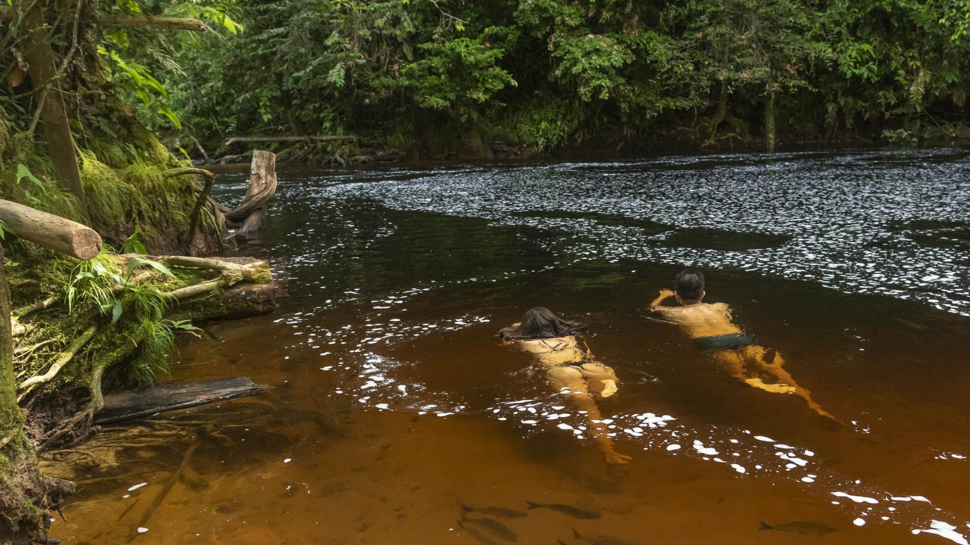 Reisebaustein - Schiffsexpedition Jaraqui auf dem Rio Negro in Brasilien