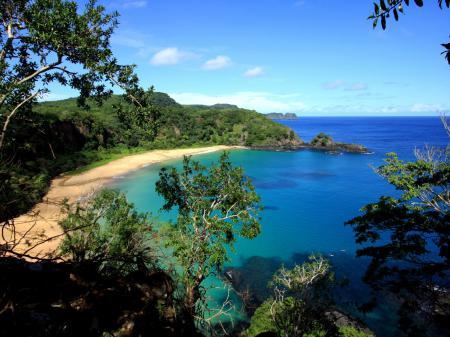 Eine traumhafte Bucht auf Fernando de Noronha