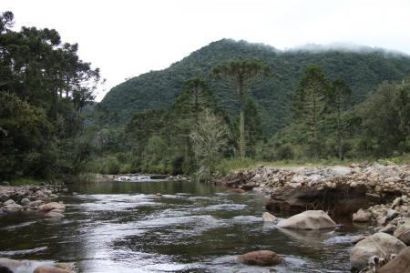 Flusslandschaft bei Urubici
