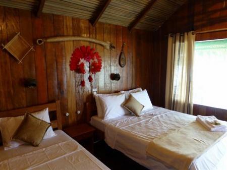 Zimmer der Juma Amazon Lodge