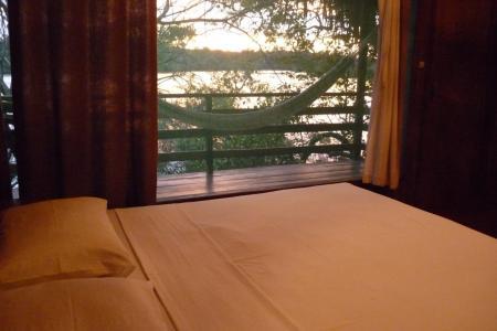 Juma Amazon Lodge Gästezimmer mit Aussicht