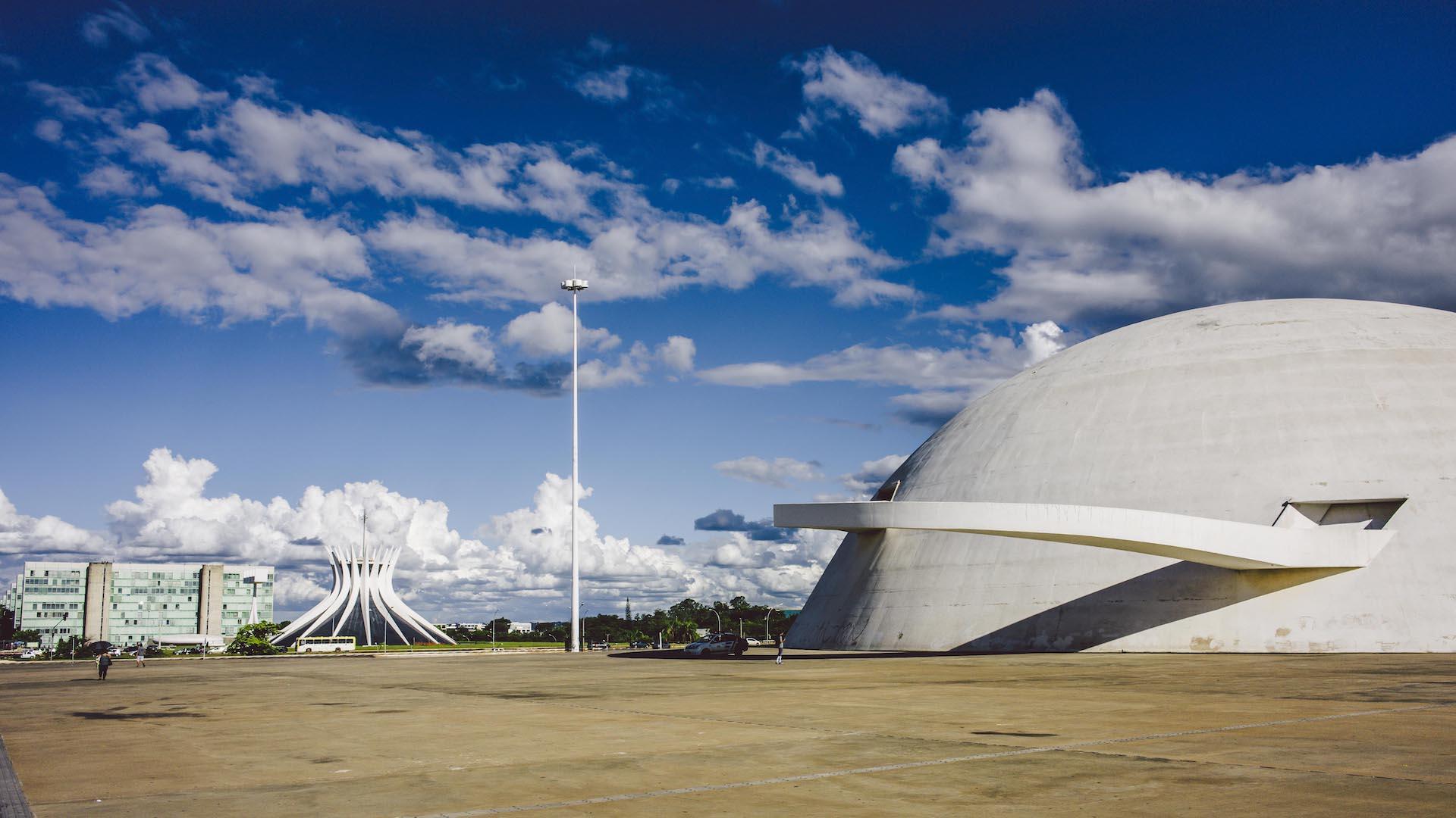 Tagestour Stadtbesichtigung Brasilia + Mittagessen (6h, privat): Nationalmuseum