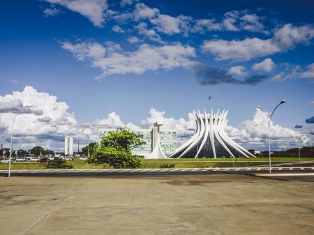 Die Kathedrale Metropolitana Nossa Senhora Aparecida in Brasilia