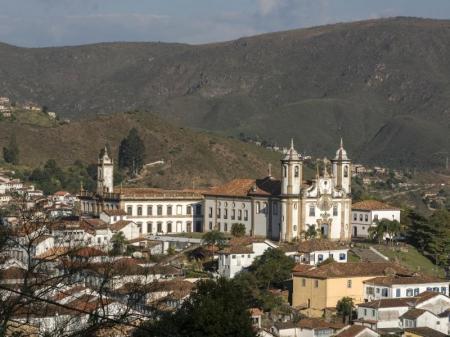 Ausblick auf Ouro Preto