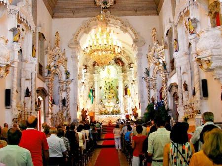 Gottesdienst in Sao Joao del-Rei
