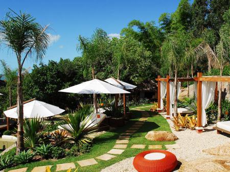 Resort Ponta dos Ganchos Außenanlage