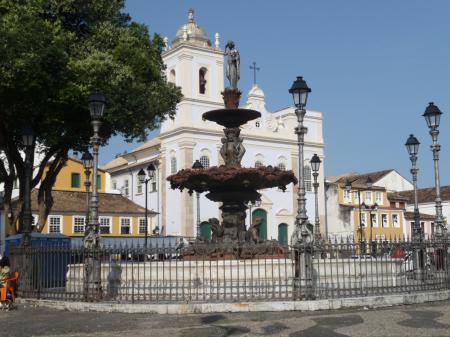 Die Kirche Terreiro de Jesus in Salvador da Bahia