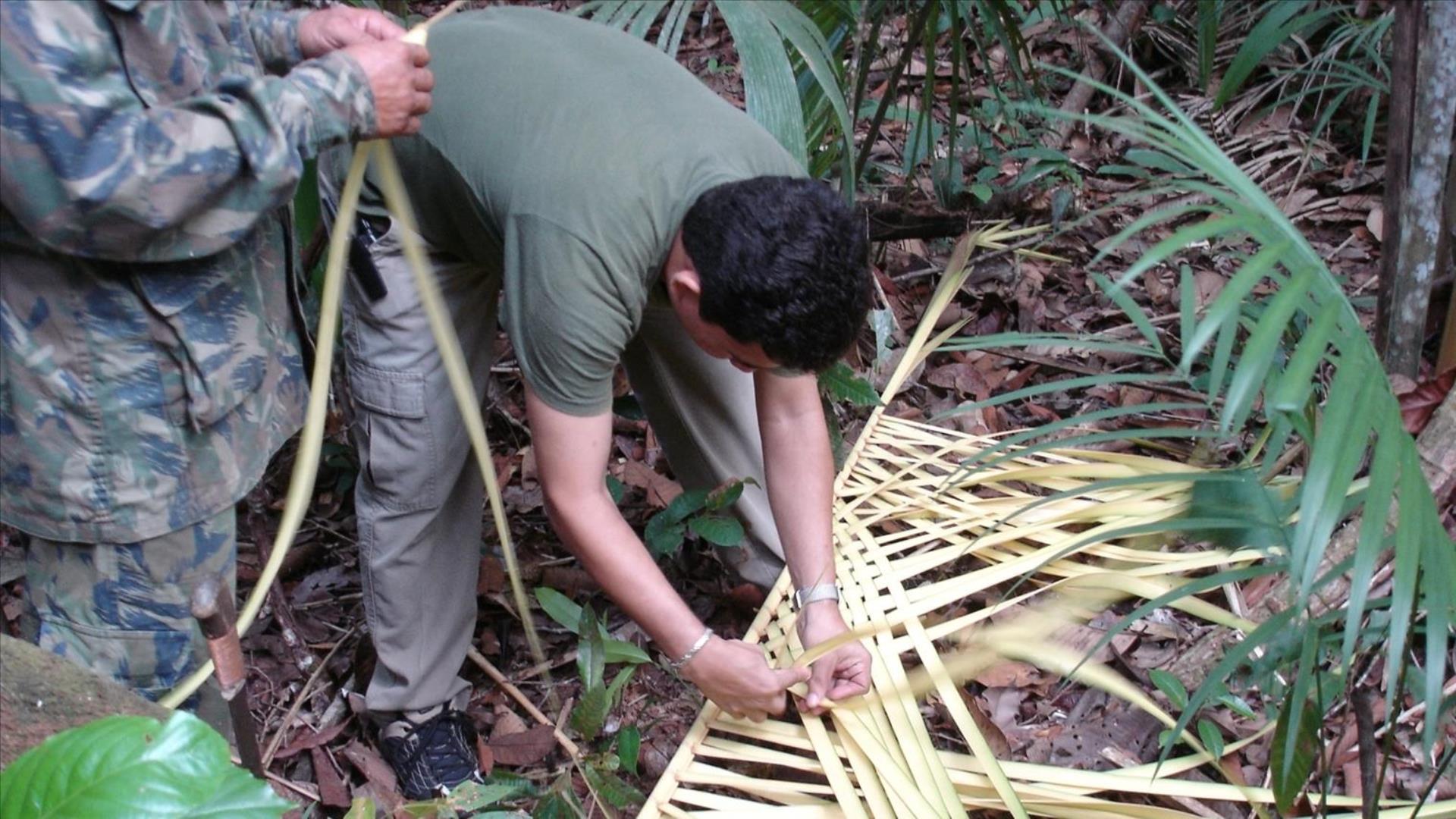 Brasilien Amazonas: 6 Tage Reisebaustein - Turtle Lodge Mamori Survival Paket: Hütten bauen im Dschungel