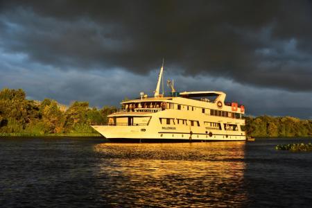 Mit der Yacht Millenium im Nord Pantanal