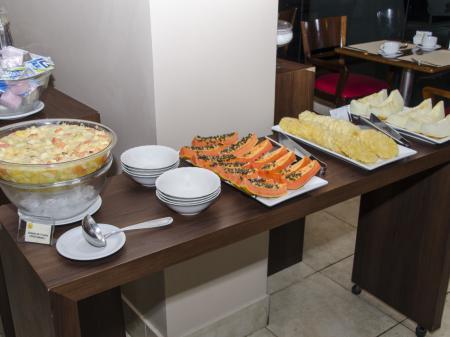 Hotel Saint Paul Frühstücksbuffet