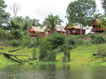 Die Turtle Lodge im Amazonas