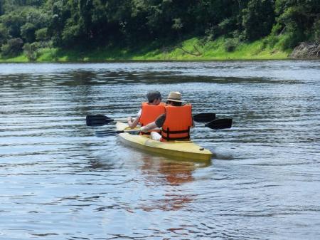 Per Kayak das Amazonasgebiet rund um die Turtle Lodge entdecken