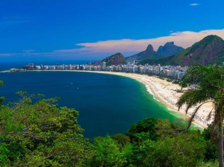 Strand in Rio de Janeiro, Brasilien