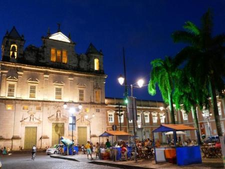 Salvador da Bahia im abendlichen Licht