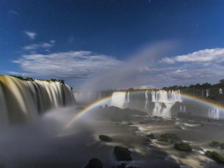 Die Wasserfälle in Foz do Iguaçu