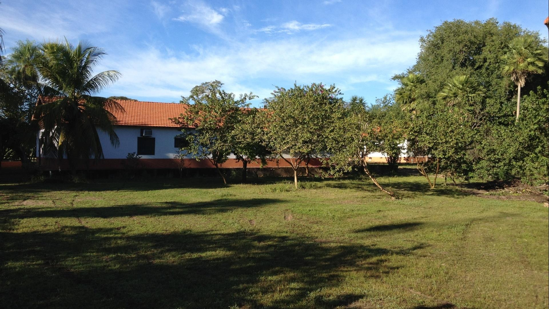 Brasilien Süd Pantanal: Landestypische Unterkunft - Xaraes Lodge, Außenansicht