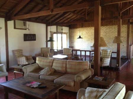 Xaraes Lodge Aufenthaltsbereich