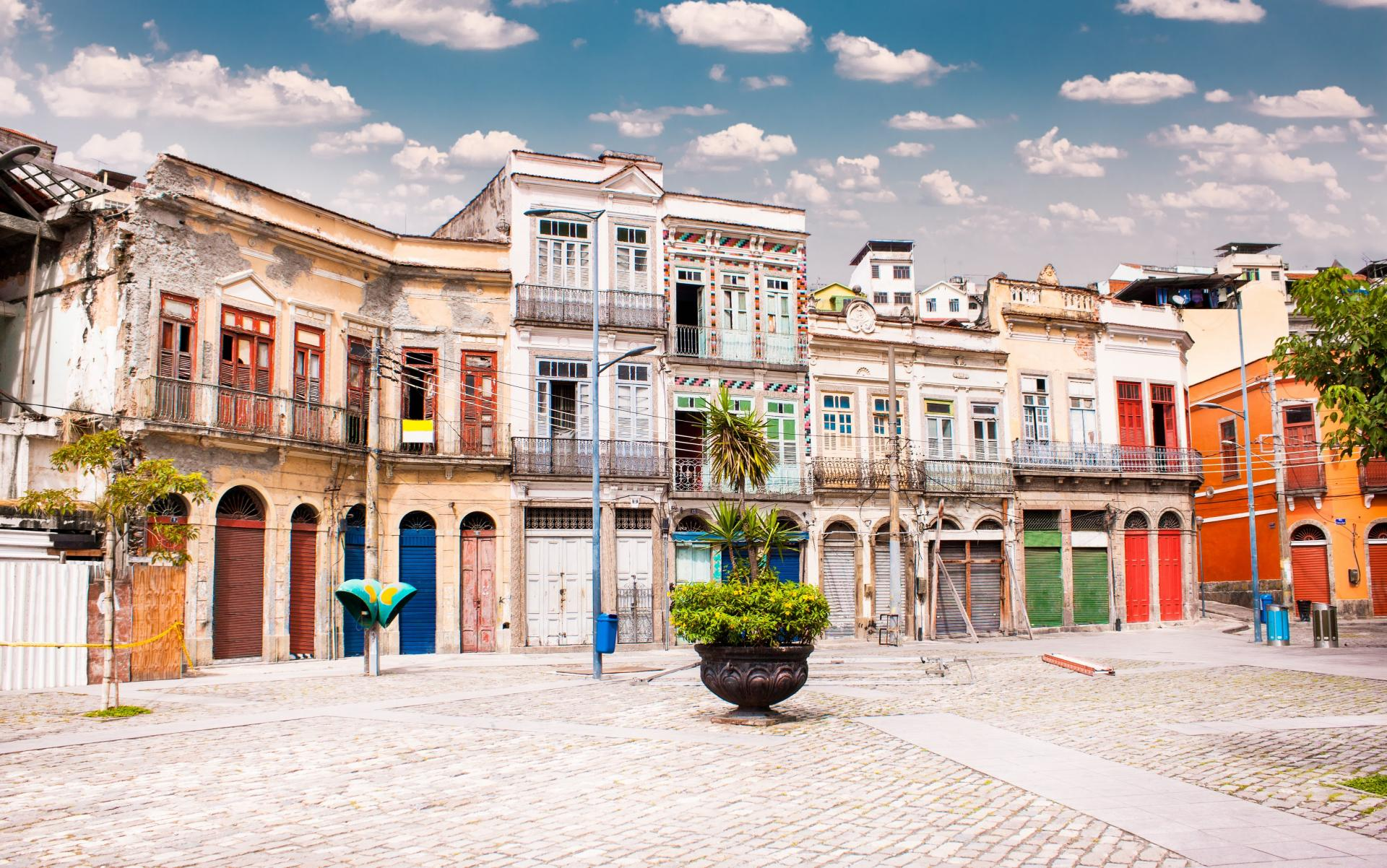 Tagestour Walkingtour Rio de Janeiro & Zuckerhut (7h, privat): Alte Architektur