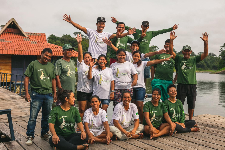 Brasilien Amazonas Tefe: Uakari Lodge 8 Tage Reisebaustein