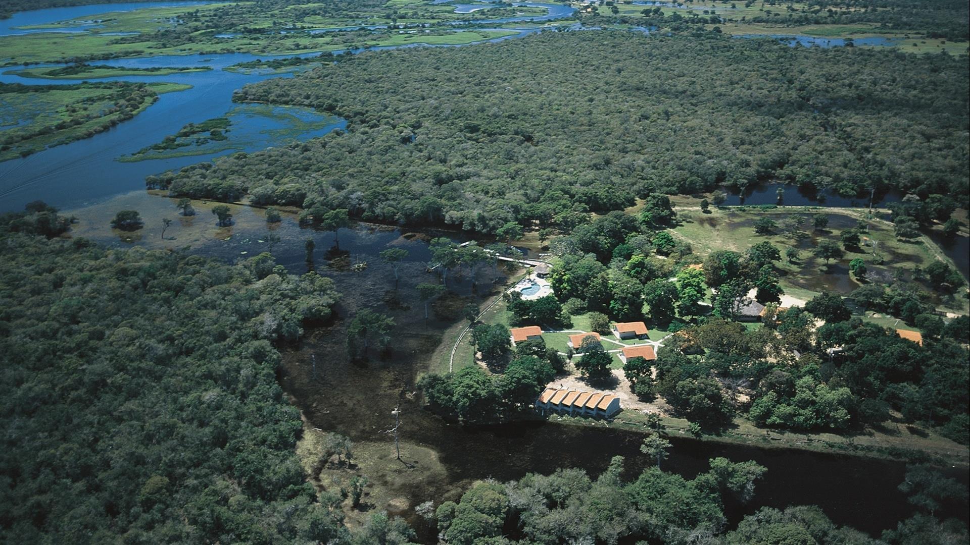 Brasilien Nord Pantanal: Landestypische Unterkunft - Pousada Rio Mutum Pantanal Eco Lodge