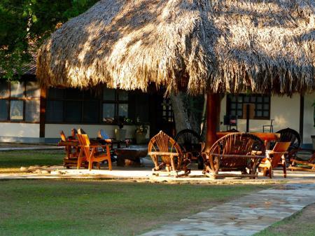 Pousada Rio Mutum Pantanal Eco Lodge Außenanlage