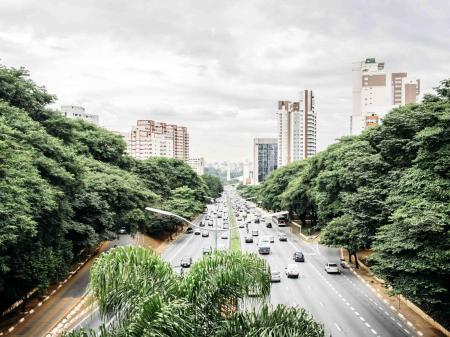 Pulsierende Großstadt Sao Paulo