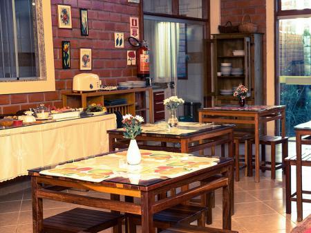 Pousada Galeria Artes Frühstücksraum