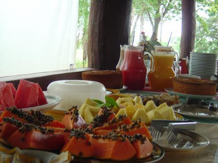 Fazenda Baia Grande Frühstücksbuffet