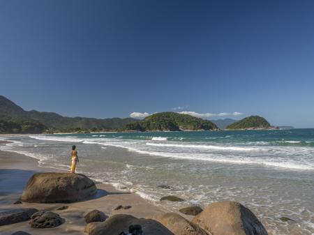Die Costa Verde - Atlantischer Regenwald und smaragdgrüner Ozean