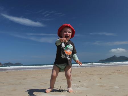 Lopes Mendes Strand auf der Ilha Grande