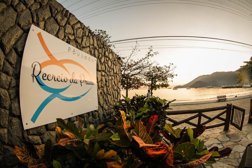 Pousada Recreio da Praia: Blick zum Strand