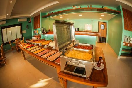 Frühstücksbuffet Pousada Recreio da Praia