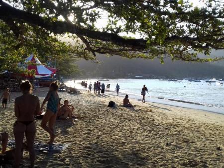 Strand Vila do Abraao Ilha Grande