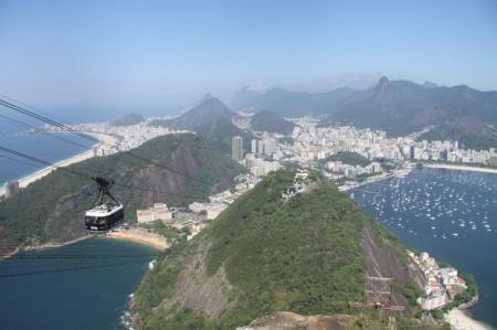 Brasilien Reise Rio de Janeiro Zuckerhut Gondel