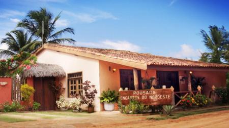 Haupthaus der Pousada Encantes do Nordeste