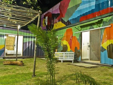 Bakano Eco Pousada Außenansicht
