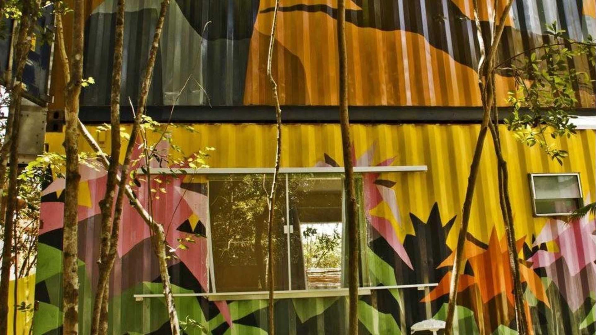 Brasilien Pipa: Landestypische Unterkunft - Bakano Eco Pousada