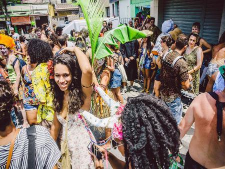 Straßenkarneval in Rio de Janeiro