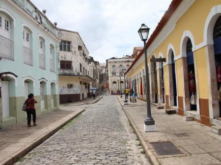 Gassen der Altstadt von Sao Luis