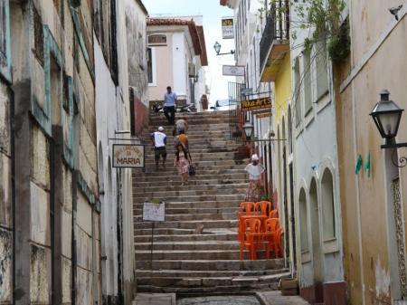 Malerische Altstadt von Sao Luis