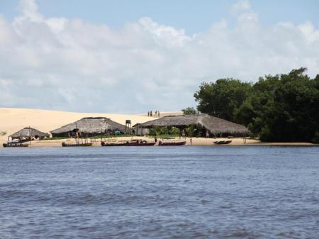 Dünen am Rio Preguicas bei Cabure