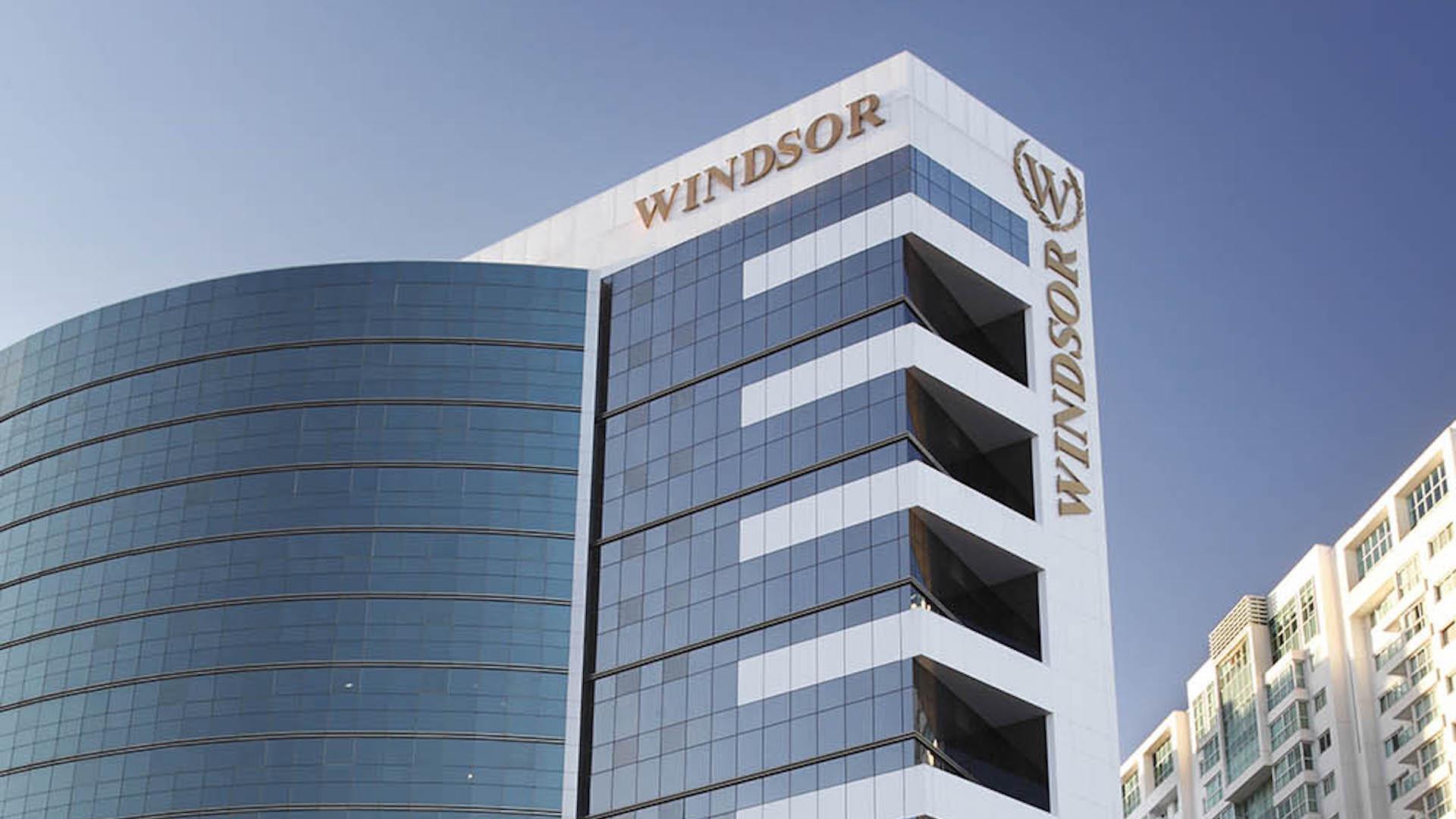 Fassade Hotel Windsor Brasilia