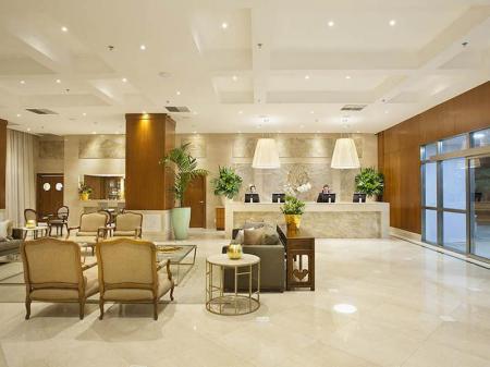 Lobby im Hotel Windsor Brasilia