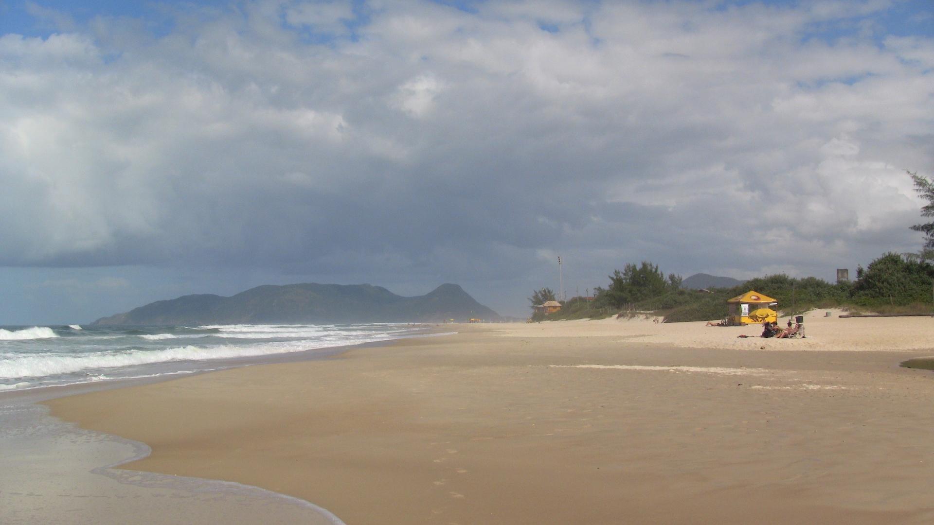 7 Tage Reisebaustein Mietwagenreise von Porto Alegre bis Florianopolis einsamer Strand
