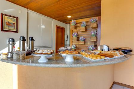 Leckeres Frühstück in der Pousada Ilha Faceira