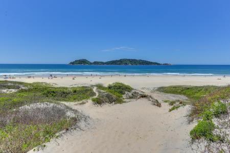 Strand von Campeche in 3 Gehminuten von der Pousada Ilha Faceira